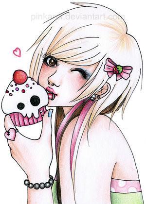 dessin manga emo